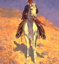 lrs Remington Frederic Self Portrait on a Horse