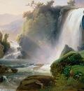 Tivoli Waterfall, Jean Charles Joseph Remond 1600x1200 I