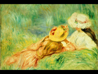 Girls on the Edge of the Water, Renoir, 1893 800x600 ID