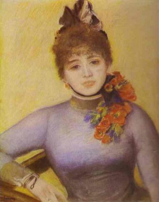 Pierre Auguste Renoir Portrait of Caroline Remy Severine
