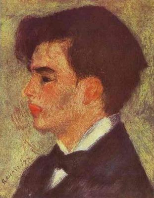 Pierre Auguste Renoir Portrait of Georges Riviere