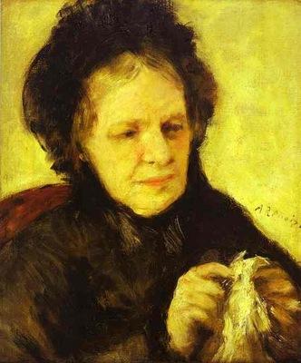 Pierre Auguste Renoir Portrait of Mme  Theodore Charpentier
