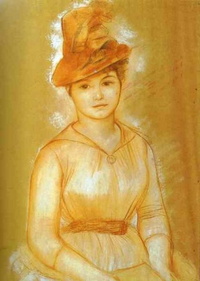 Pierre Auguste Renoir Portrait of a Woman