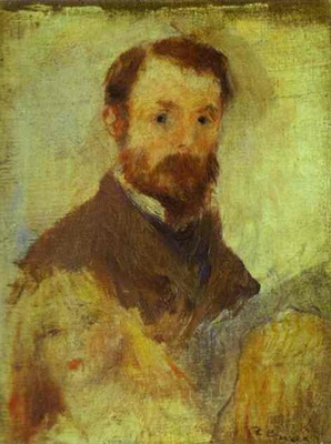 Pierre Auguste Renoir Self Portrait