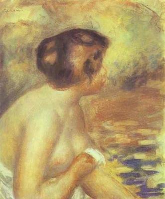 Pierre Auguste Renoir The Bather