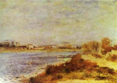 Pierre Auguste Renoir View of Argenteuil