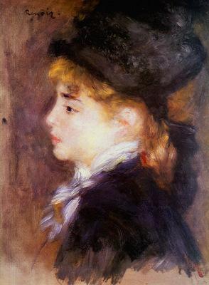 Renoir Auguste Margot Sun