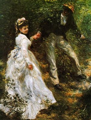 Renoir Pierre August La promenade