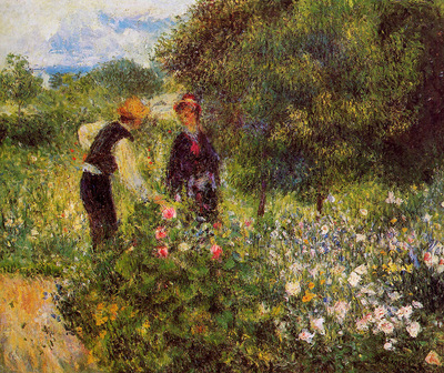 Renoir Pierre Auguste Conversation with the garderner Sun