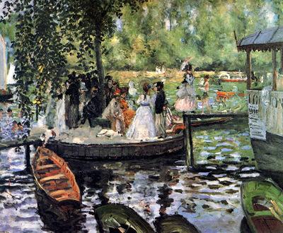 Renoir Pierre Auguste La Grenoillere Sun