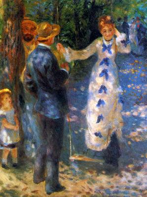 Renoir Pierre Auguste The swing Sun