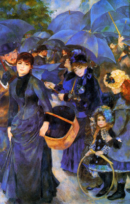 Renoir Pierre Auguste The umbrellas Sun