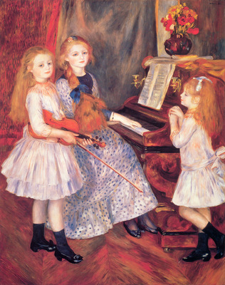 The Daughters of Catulle Mendes at the Piano