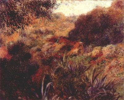 renoir algerian landscape the ravin de la femme sauvage 92B