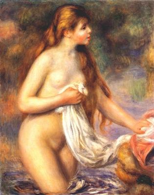 renoir bather c1895
