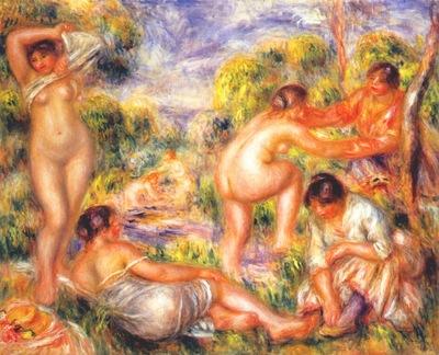 renoir bathers