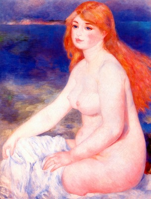 renoir blonde bather ii c1882