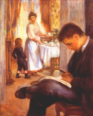 renoir breakfast at berneval
