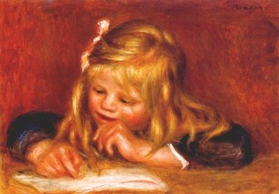 renoir coco reading