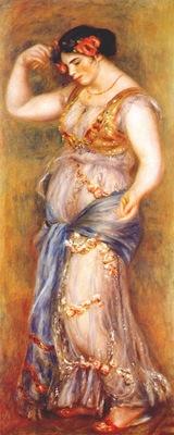 renoir dancing girl with castanets