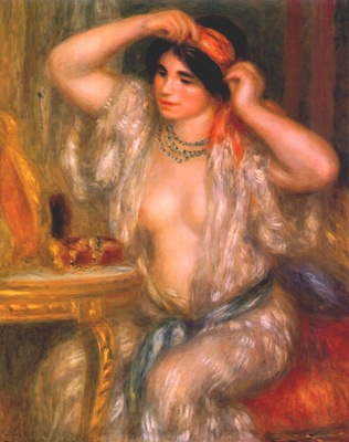 renoir gabrielle at the mirror