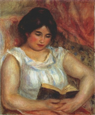 renoir gabrielle reading