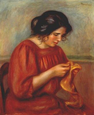 renoir gabrielle sewing