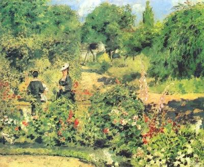 renoir garden at fontenay