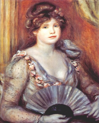 renoir lady with fan