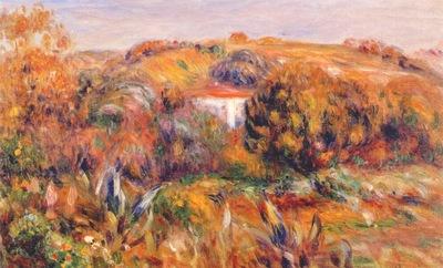 renoir landscape at cagnes c1905