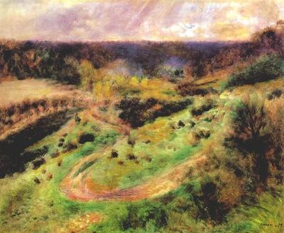 renoir landscape at wargemont