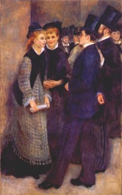 renoir leaving the conservatoire