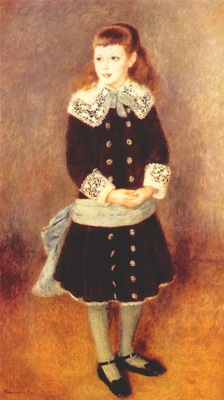 renoir marthe berard girl with blue sash