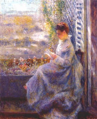 renoir mme chocquet reading c1875