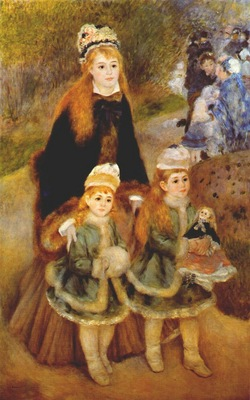 renoir mother and children c1875