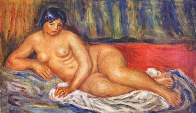 renoir nude girl reclining