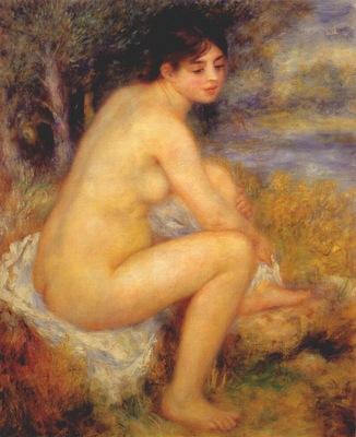 renoir nude in a landscape