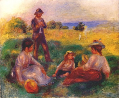 renoir party in the country at berneval