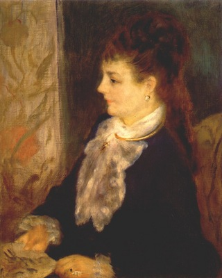 renoir portrait of an anonymous sitter