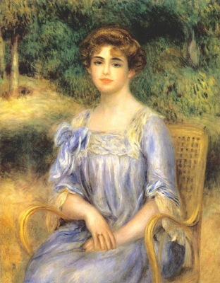 renoir portrait of madame bernheim