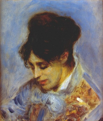 renoir portrait of madame monet