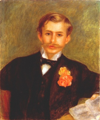renoir portrait of monsieur germain c1900