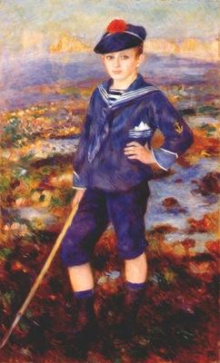 renoir sailor boy portrait of robert nunes