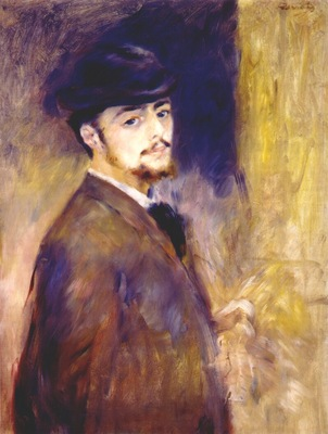 renoir self portrait at thirty five