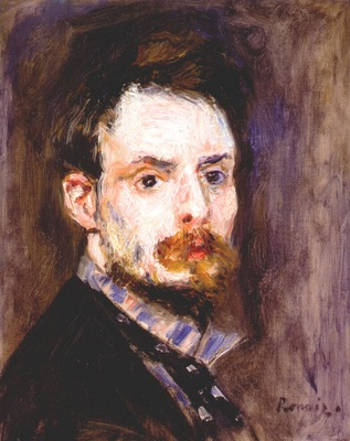 renoir self portrait c1875