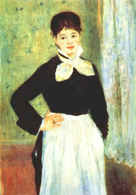 renoir serving girl from duval