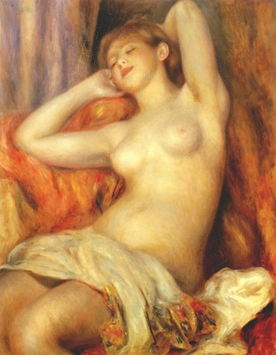 renoir sleeping woman