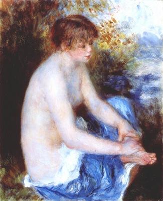 renoir small blue nude 1878