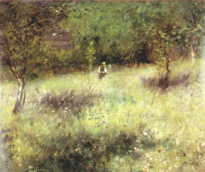 renoir spring at chatou c1872