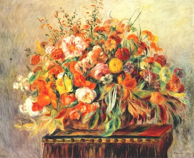 renoir still life with flowers